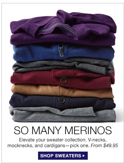 SO MANY MERINOS | SHOP SWEATERS