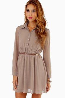 UPTON SHIRT DRESS 33