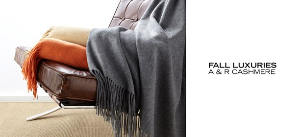 FALL LUXURIES: A & R CASHMERE, Event Ends October 5, 9:00 AM PT >