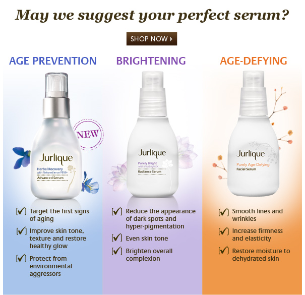 May we suggest your perfect serum?