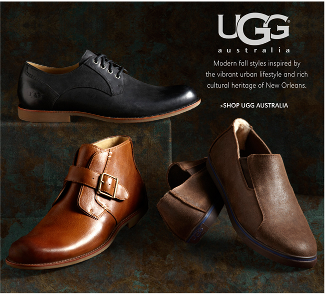 UGG AUSTRALIA | MODERN FALL STYLES INSPIRED BY THE VIBRANT URBAN LIFESTYLE AND RICH CULTURAL HERITAGE OF NEW ORLEANS. | SHOP UGG AUSTRALIA