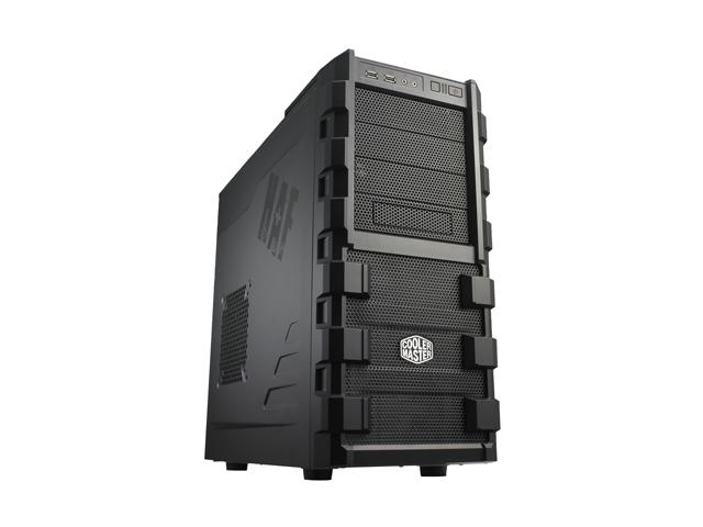 COOLER MASTER HAF series RC-912-KKN1 Black SECC/ ABS Plastic ATX Mid Tower Computer Case