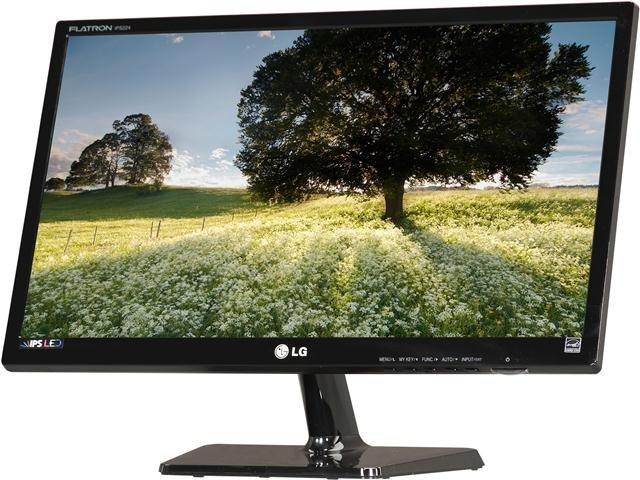 LG IPS224V-PN Black 21.5 inch 14ms (GTG) HDMI Widescreen LED Backlight LCD Monitor IPS 250 cd/m2 5,000,000:1