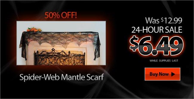 Spider-Web Mantle Scarf