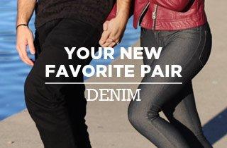 Your New Favorite Pair: Denim