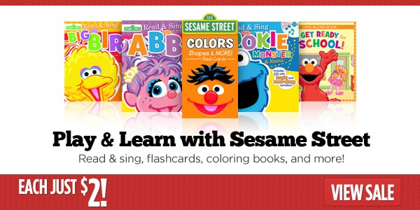 Play & Learn with Sesame Street