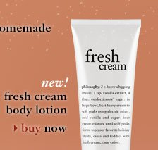 new! fresh cream body lotion - buy now