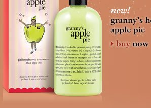 new! granny's homemade apple pie - buy now