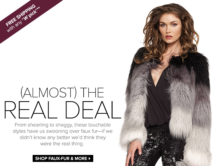 Shop Faux-Fur and More
