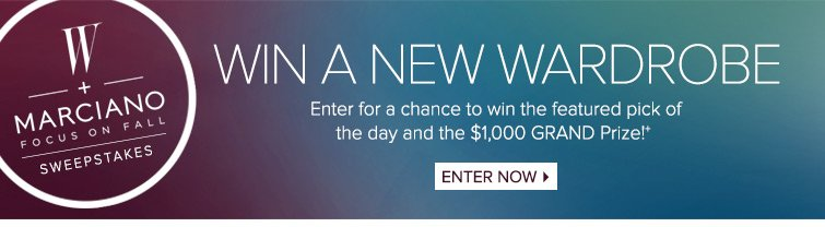 Enter Sweepstakes Now
