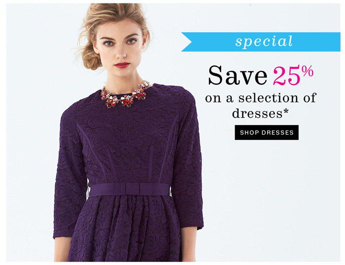 Shop Dresses*