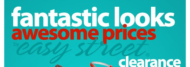 Fantastic Look, Awesome Prices - Easy Street® Shoe Clearance - As Low As $6.99 - Shop Now