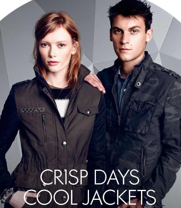CRISP DAYS - COOL JACKETS