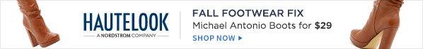 HAUTELOOK: FALL FOOTWEAR FIX