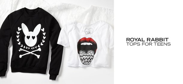 ROYAL RABBIT: TOPS FOR TEENS, Event Ends October 5, 9:00 AM PT >