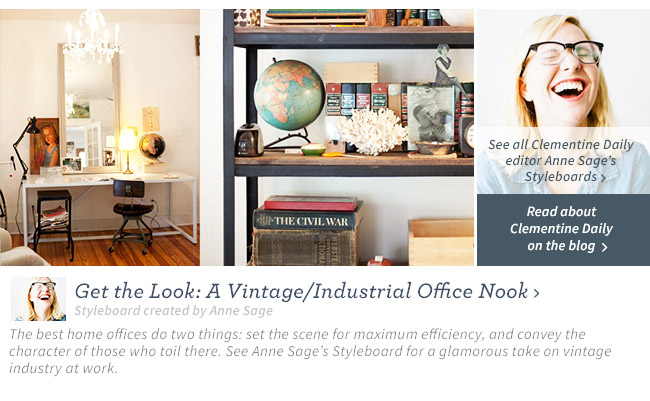Vintage Office Nook