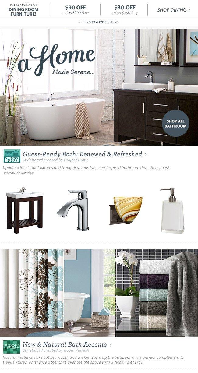 Guest-Ready Bath