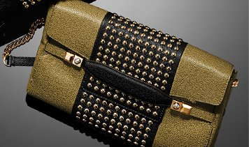 Carlyle Studded Baguette