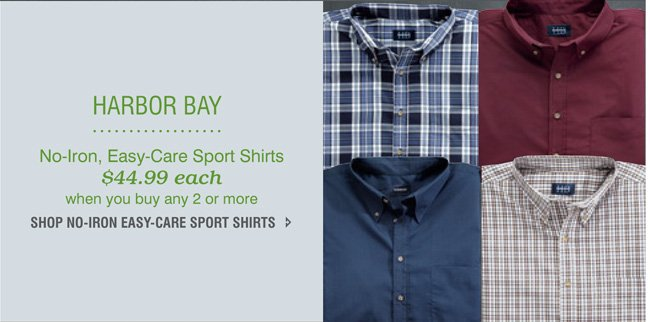 Easy Care Shirts Mix and Match