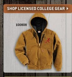 Click Here To Shop Licensed College Gear