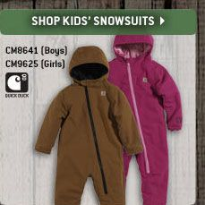 Click Here To Shop Kid's Snowsuits