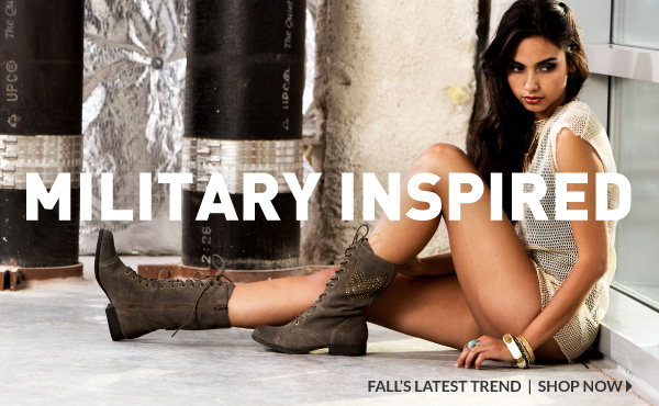 Shop Military Inspired Combat Boots