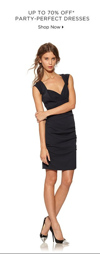 Up To 70% Off* Party-Perfect Dresses