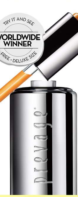 FINAL HOURS. PREVAGE® EVENT. Our new breakthrough serum was chosen by 7 out of 10 women over the current market leader.* Destined to become your new favorite: PREVAGE® Anti-aging + Intensive Repair Daily Serum. TRY IT AND SEE. WORLDWIDE WINNER. FREE DELUXE SIZE. FREE WITH ANY PURCHASE. Enter secret code REPAIRSERUM at checkout. Hurry! Ends at Midnight, PST.