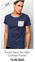 Atypical Round Neck Tee