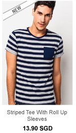 Atypical Striped Tee