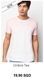 Chuck and Bo Ombre Tee
