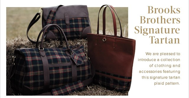 BROOKS BROTHERS SIGNATURE TARTAN