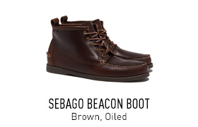 Brown Sebago Boot
