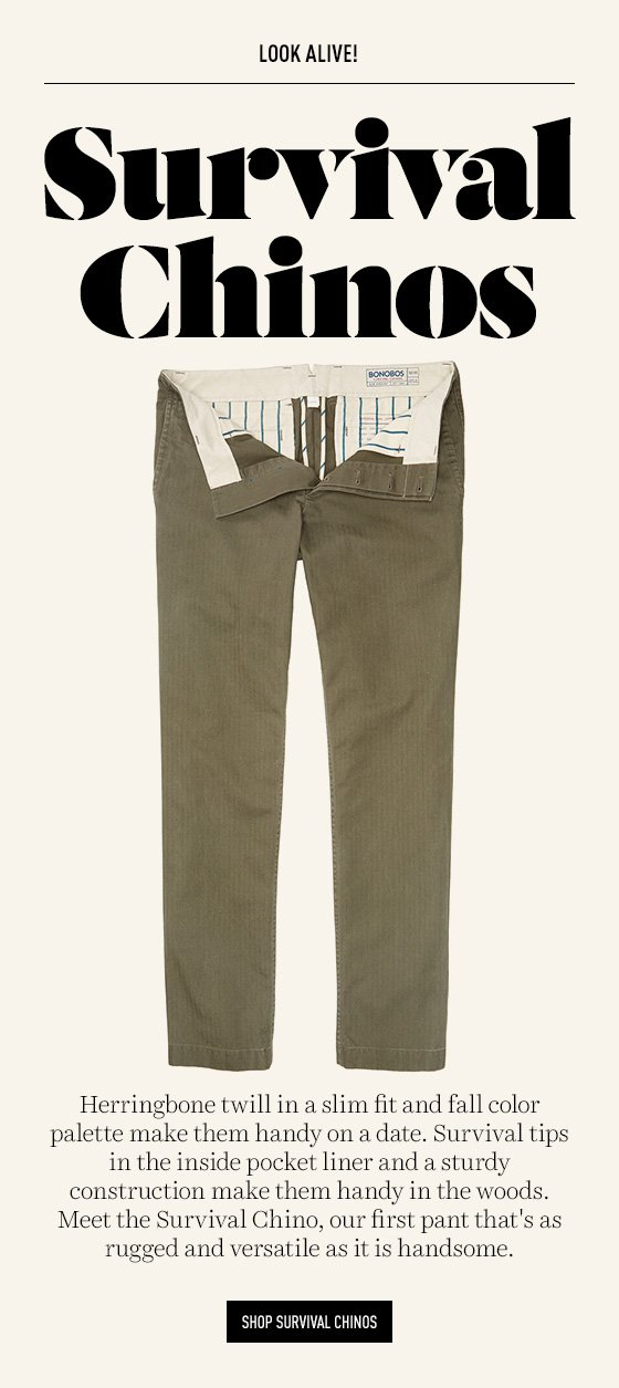 Survival Chinos