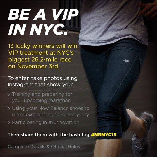 Run NYC like a VIP