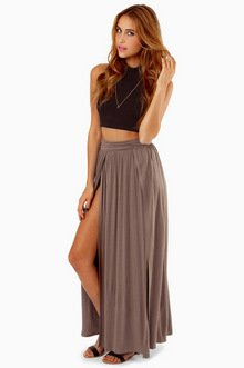 SLIT PERSONALITY SKIRT 28