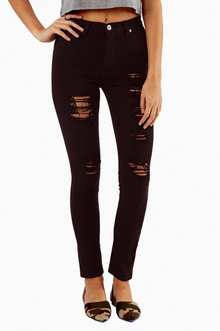 BRANDY DISTRESSED SKINNY JEANS 47