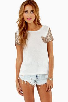 EMBELLISH ME POCKET T-SHIRT 26