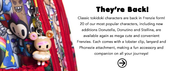 See them now on the Official tokidoki Online Brand Shop