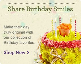 Share Birthday Smiles