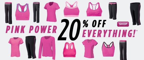 SHOP Pink Gear