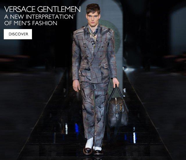 Versace Gentlemen - Men's FW 2013/14 Fashion Show Collection