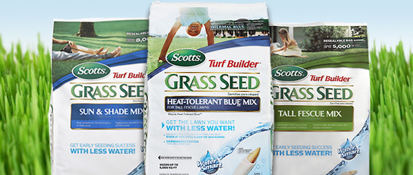 20% off Scotts Grass Seed. Selection varies by store. Offer ends 10/7/13.