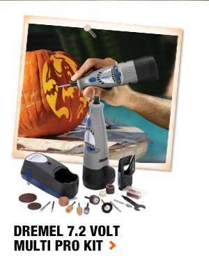 Dremel 7.2 Volt Multi Pro Kit