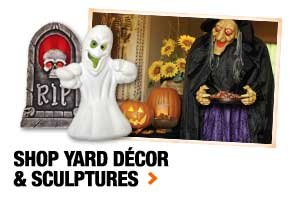 Shop yard décor & sculptures