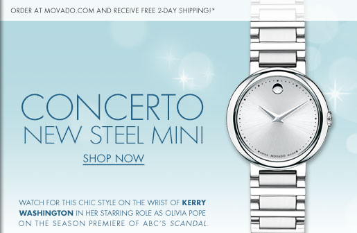 CONCERTO NEW STEEL MINI - SHOP NOW