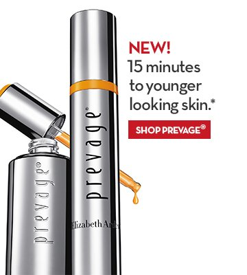 NEW! 15 minutes to younger looking skin.* SHOP PREVAGE®.