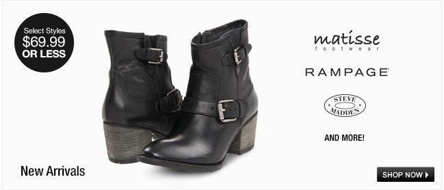 New Arrivals: Fashion-Forward Footwear