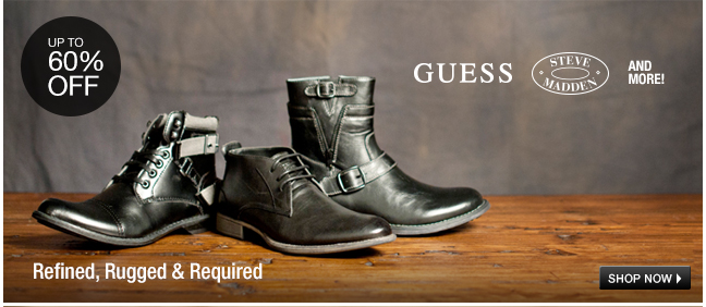 GUESS, Steve Madden and More