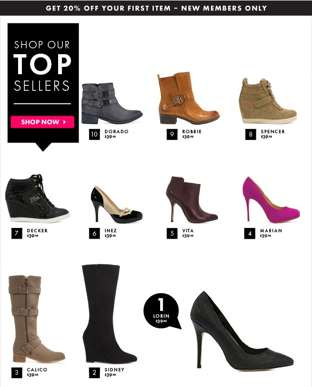 Shop Our Top Sellers
